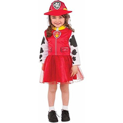 Paw Patrol Marshall Girl;s Costume (S (4-6))