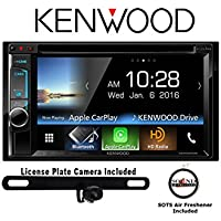 Kenwood DDX6903S DVD Receiver w/ Backup Rear View Camera & Apple CarPlay and a FREE SOTS Air Freshener Included