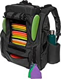 BagLane Fusion Elite Disc Golf Backpack Bag w/Seat & Cooler- 25+ Capacity (Grey)