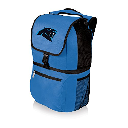 PICNIC TIME NFL Zuma Insulated Cooler Backpack, Blue, Carolina Panthers