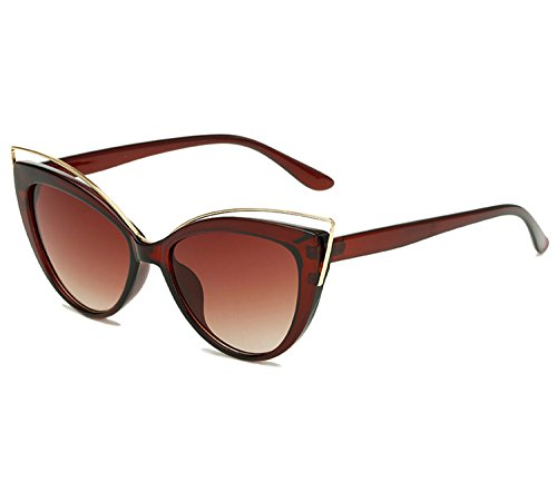 KELUOZE Womens Polarized Sunglasses Cat Eye Sunglasses Aviator Wayfarer - Polarized 3 Cat