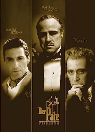 Der Pate I Iii 4 Dvds Amazonde Al Pacino Marlon Brando