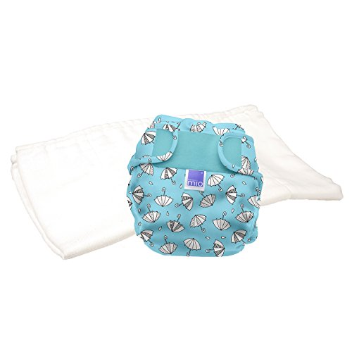 Bambino Mio, Miosoft Cloth Diaper Trial Pack, Rainy Days, Size 1 (<21lbs)