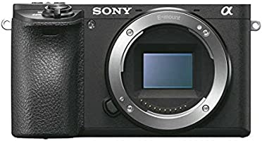 Sony Alpha a6500 Digital Camera with 2.95-Inch LCD (Body Only)