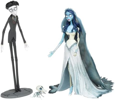 None Corpse Bride and Victor 7 Figures