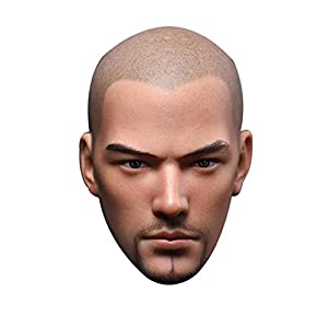 1/6 Custom Head Sculpt for Phicen Musular Male Body