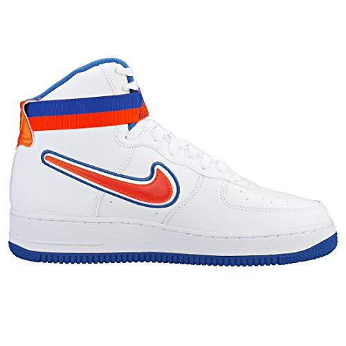 Royal game 100 blu '07 Da Orange Scarpe Sport Force team 1 Bianco High Lv8 Reale Uomo Nike Air white Fitness arancione BxWUROAHx