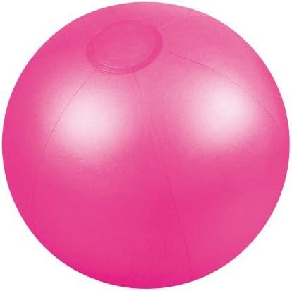 Presents & more - Pelota de playa rosa rosa: Amazon.es: Deportes y ...