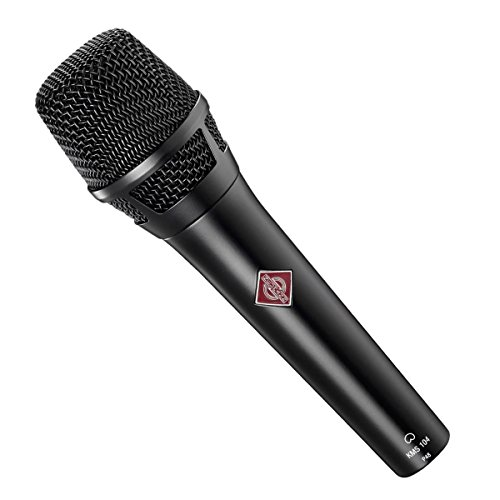 Neumann KMS 104 D bk | Solution-D Digital Cardioid Handheld Microphone Black - Neumann Kms 104 Handheld