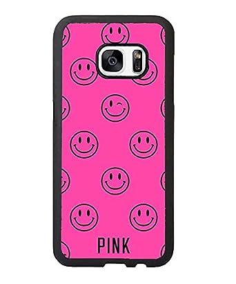 5381c51b27 Victoria s Secret Pink Victoria s Secret Pink Brand Logo Case Cover For  Samsung Galaxy S7 Edge Case