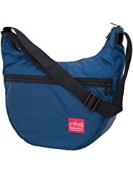 Manhattan Portage Cordura Lite Top Zipper Nolita Bag, Navy, One Size