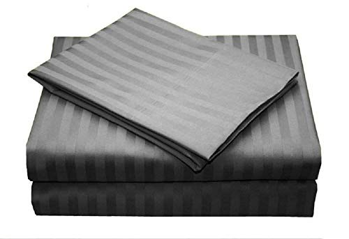 Rajlinen Queen Size Sheet Set - 4 Pieces Set - 400 TC Luxury Bed Sheets - Extra Soft - Deep Pockets Upto 18