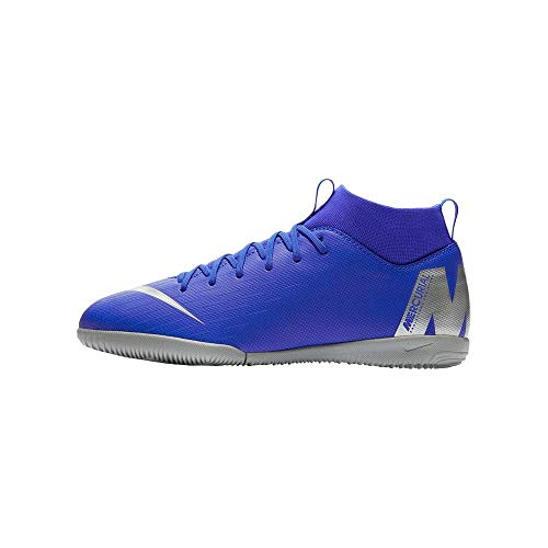 Nike Junior SuperflyX 6 Academy Indoor Soccer Shoes (5.5 US M Big Kid)