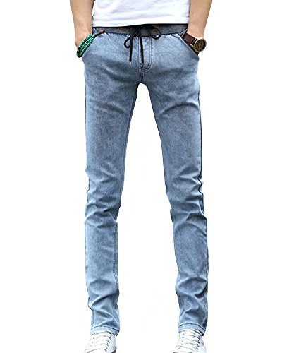 Wxian Mens Super Comfy Straight Stretch Denim Jean 550 Relaxed Fit Jean Shorts