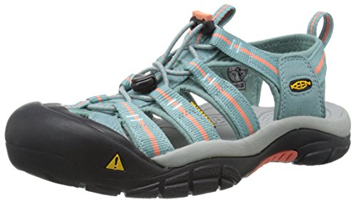 - KEEN Women's Newport H2 Sandal, Mineral Blue/Fusion Coral, 5 M US