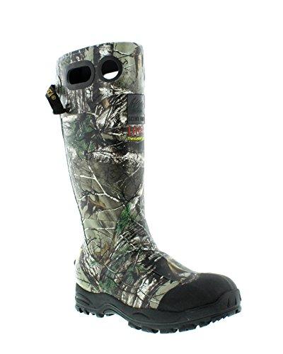 Itasca Mens Swampwalker Alto Impermeabile Pioggia Boot Camouflage