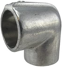 Aluminum Alloy Pipe Rail Fitting Hollaender Adjustable Elbow Assembly 9 Pack 1-1//4 Inch Pipe