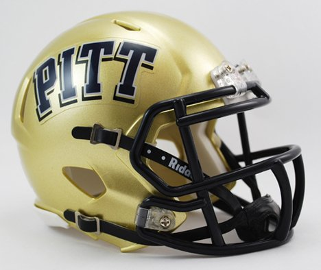 (NCAA Pittsburgh Panthers Speed Mini Helmet)
