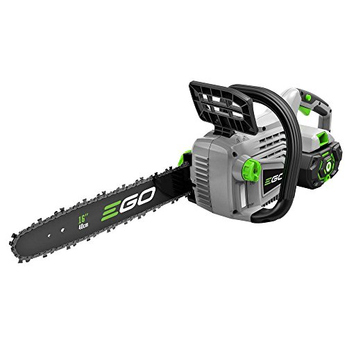 Ego 16 in. 56-Volt Lithium-Ion Cordless Chain Saw Included 5.0 Ah battery