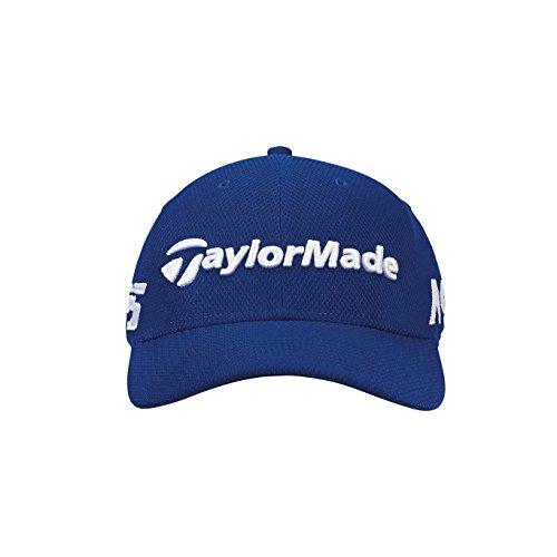 TaylorMade Golf 2018 Mens New Era Tour 39thirty Hat, Royal, Medium/large