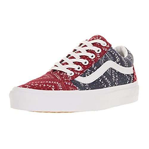 6d1ac2e0a8 Vans Unisex Old Skool (Ditsy Bandana) Skate Shoe 80%OFF - appleshack ...