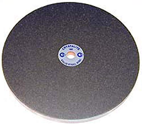 """6/""""x1//2/"""" 600Grit Diamond Lapidary Glass Standard Faceting Lapping Flat Laps"""