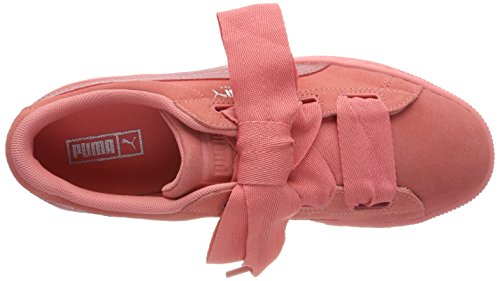 Suede Jr Rose Sneakers Pink Fille Basses Heart shell shell Puma Pink Snk 67wdq06B