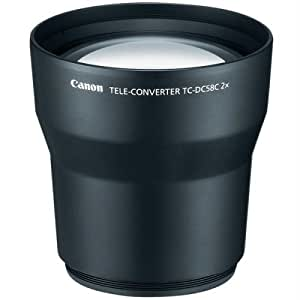 Canon TC-DC58C Tele Converter Lens for Canon A650IS, G7 & G9 Digital Cameras