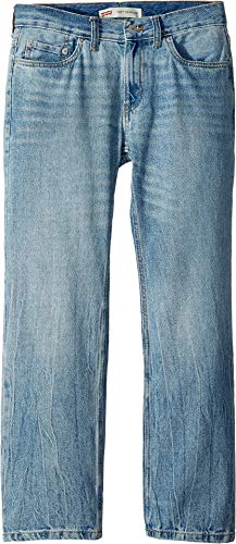 (Levi's Boys' 505 Regular Fit Jeans, Dogtown, 16)