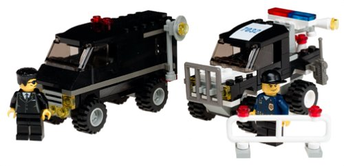 LEGO World City: Police 4WD and Undercover Van