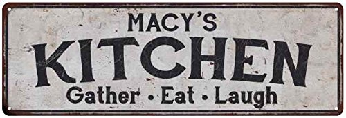 MACY'S Kitchen Rustic Look Chic Sign Home Décor Gift 8x24 Sign - Sign In Usa Macys