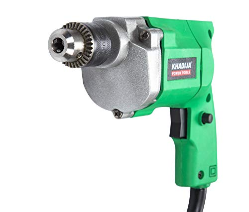 KHADIJA Powerful Simple Electric Drill Machine 10mm With Free 13Pcs HSS Drill Bits & 1Pc Masonary Bit Combo 5