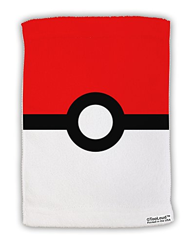 (TooLoud Sporty Red and White Circle Micro Terry Sport Towel 11