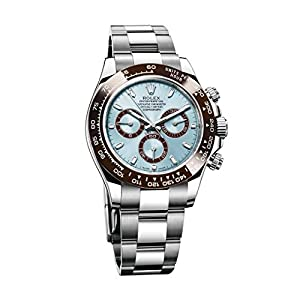Best Epic Trends 41TNa8BdpqL._SS300_ Rolex Cosmograph Daytona Ice Blue Dial Platinum Mens Watch 116506IBLSO