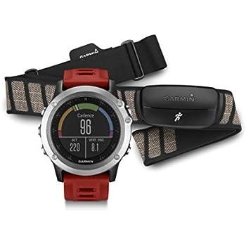 Garmin fenix 3, Silver bundle with Heart Rate Monitor