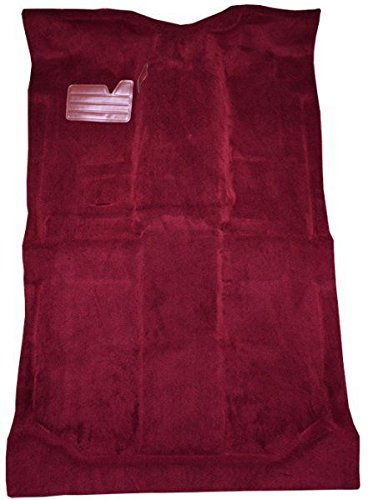 - 1992 to 1999 GMC Yukon XL Suburban Carpet Custom Molded Replacement Kit, With Heat Vents, Passenger Area Only (815-Red Plush Cut Pile)
