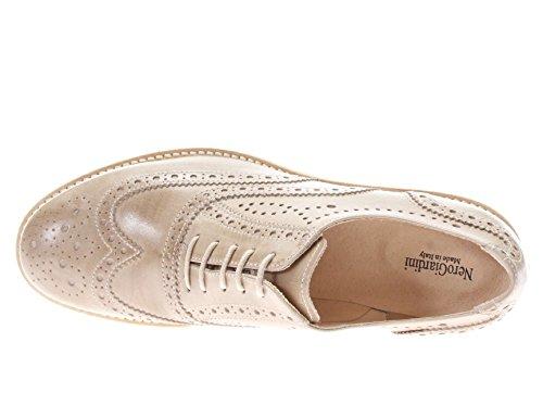 mujer cordones Giardini de TóRTOLA para Zapatos Nero f0A4qxXf