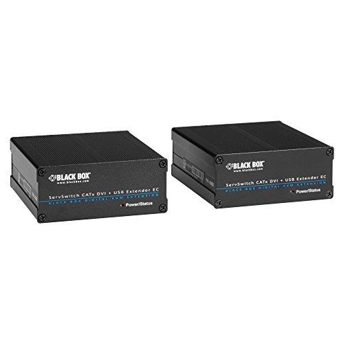 Black Box EC Series KVM CATx Extender Kit, HDMI/DVI, USB
