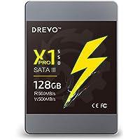DREVO X1 Pro 128GB SSD Internal Solid State Drive 2.5-inch SATAIII Read 560MB/S Write 500MB/S