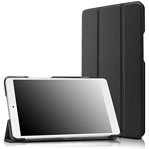 Infiland Huawei MediaPad M3 8.4 Case, Tri-Fold Ultra Slim Stand Smart Case cover for Huawei MediaPad M3 8.0 Octa Core 8.4