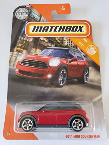 Matchbox 2020 MBX City 2011 Mini Countryman, Red 11/100