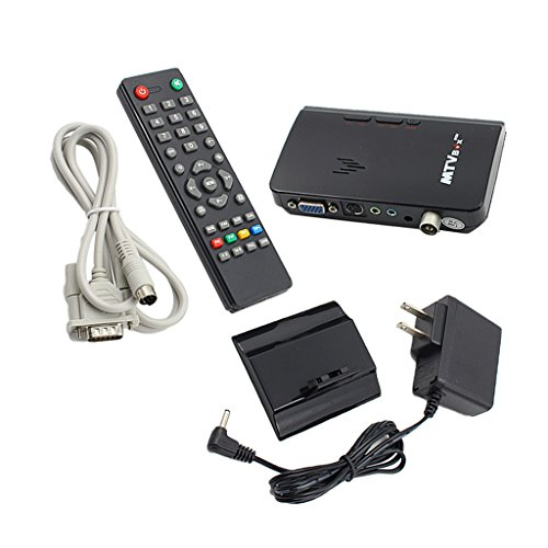 MagiDeal LCD VGA External TV PC BOX Digital Program Receiver Tuner 1080P HDTV Monitor US Plug