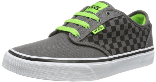 Vans Y Atwood (Checkers) negro - Schwarz (Checkers) Pewte)
