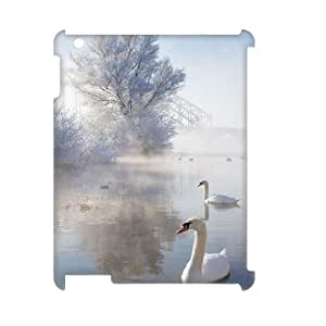 Ice And Snow Brand New 3D Cover Case for Ipad2,3,4,diy case cover ygtg297664