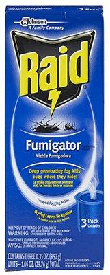SC Johnson 74249 Raid Fumigator Fogger, 3 Pack by Raid
