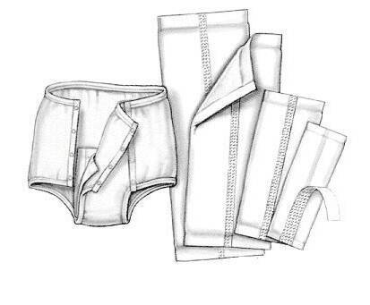 Handi-Care Garment Liner, 4 1/2 X 14
