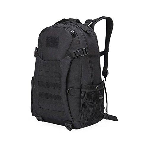 ZX&Q Impermeable Oxford tela deportes tácticos al aire libre camuflaje escalada mochila transpirable luz cómoda llevando una mochila al aire libre súper resistente al desgaste ligero,C,30L F