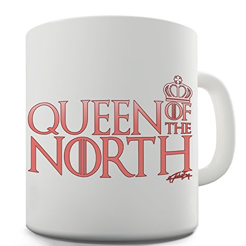 (Twisted Envy Queen Of The North Crown Ceramic Novelty Gift Mug)