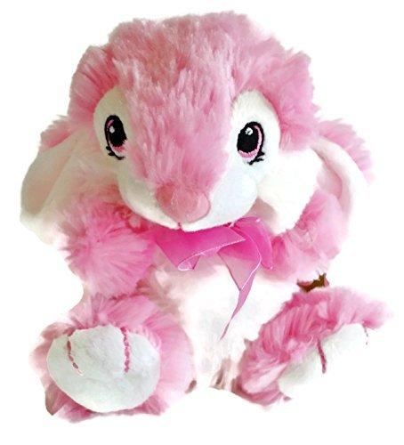 Pink Hoppy Hopster Bunny Rabbit Plush - Dan Dee