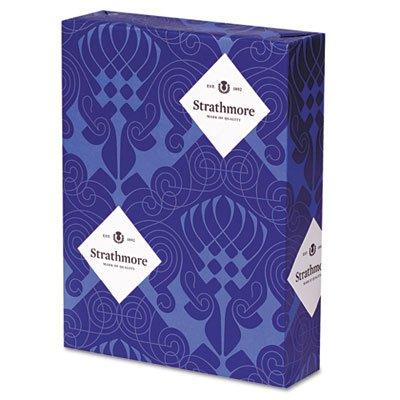 Strathmore 190504 Premium Sulphite Business Stationery, 24lb, 8 1/2 x 11, White, 500 Sheets